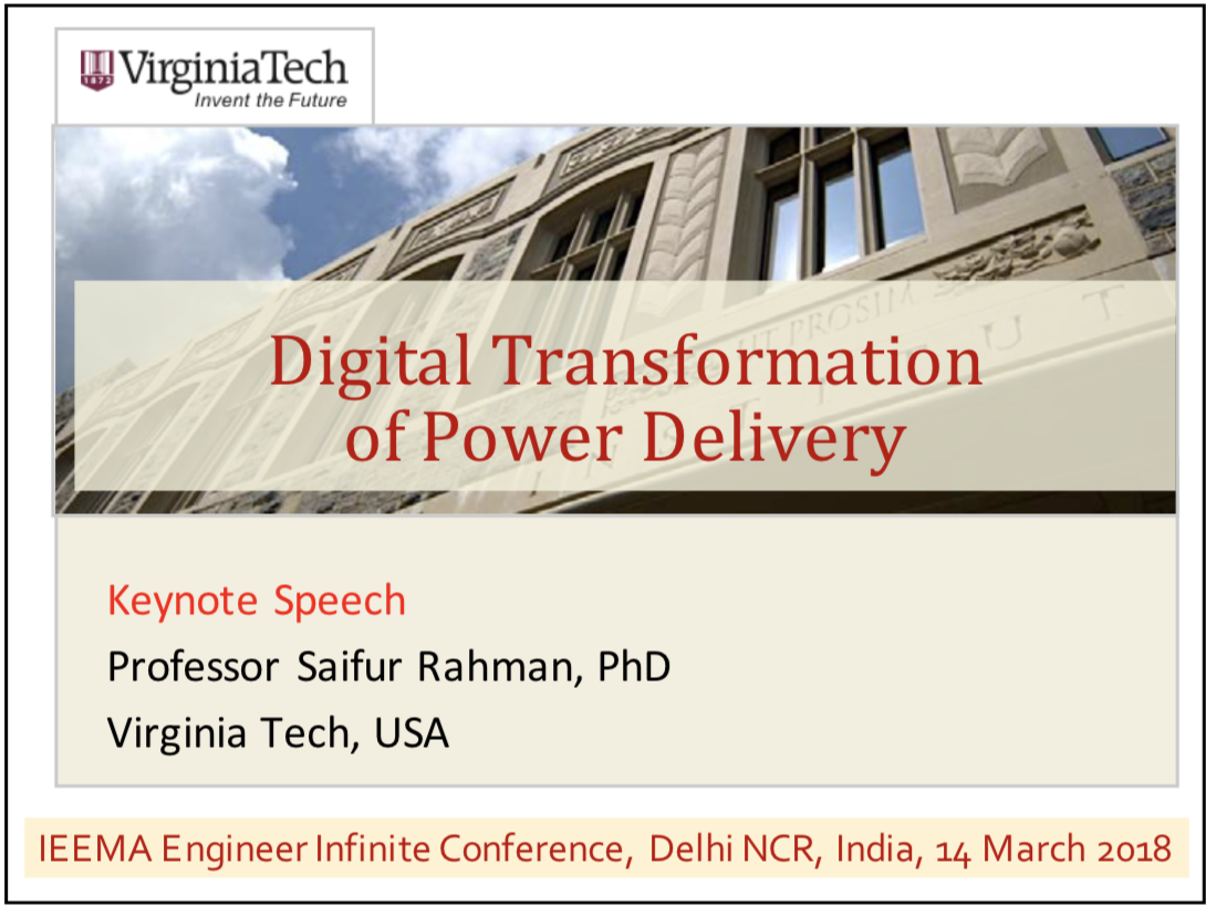 Digital Transformation of Power Delivery